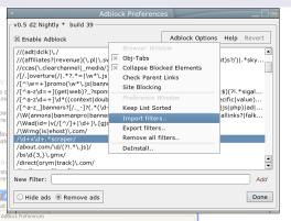 Adblock Firefox Extension